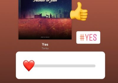 Spotify Song als Link in Instastories teilen