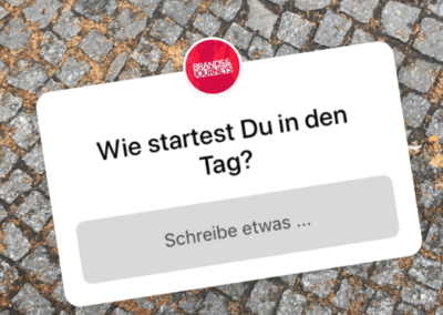 Fragen Sticker in der Instagram Story