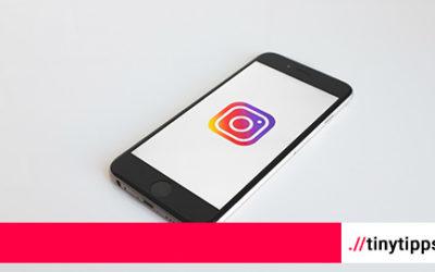 Leerzeilen auf Instagram: Ein einfacher Tipp für Dich