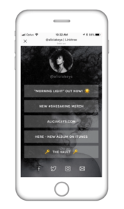 Linktree Screenshot