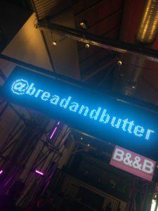 IG Benutzernamen auf der Bread and Butter