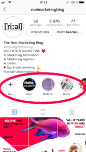 Cover für Instagram Story Highlights - Kostenloses Template