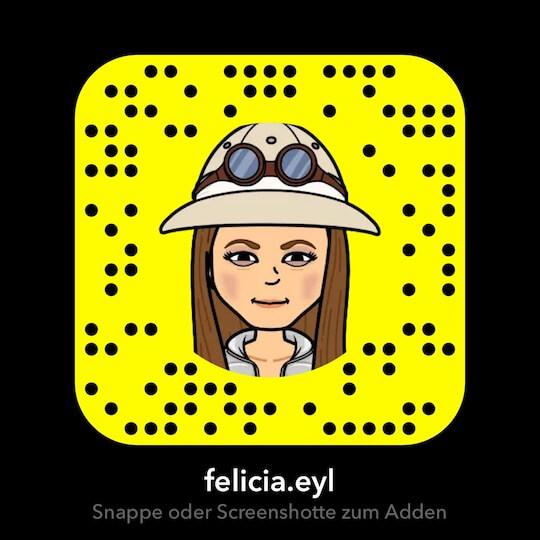 Screenshot: Snapchat Snapcode von felicia.eyl