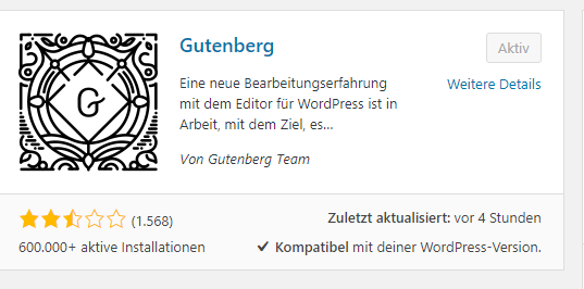 Gutenberg WordPress Plugin