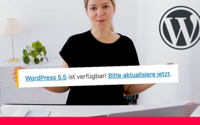 WordPress 5.5 ist da 😀 was ist neu?